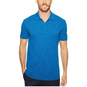 Lacoste Short Sleeve Slim Fit Polo Sapphire Blue
